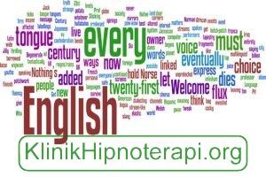 Hipnoterapi Bahasa Inggris