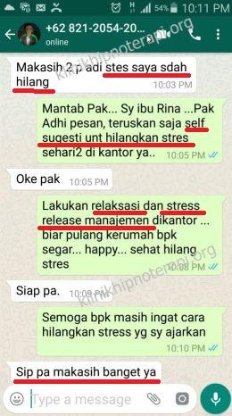 Klinik hipnoterapi STRESS