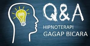 Hipnoterapi Gagap bicara